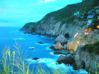 La Quebrada και βουτιές στο άπειρο